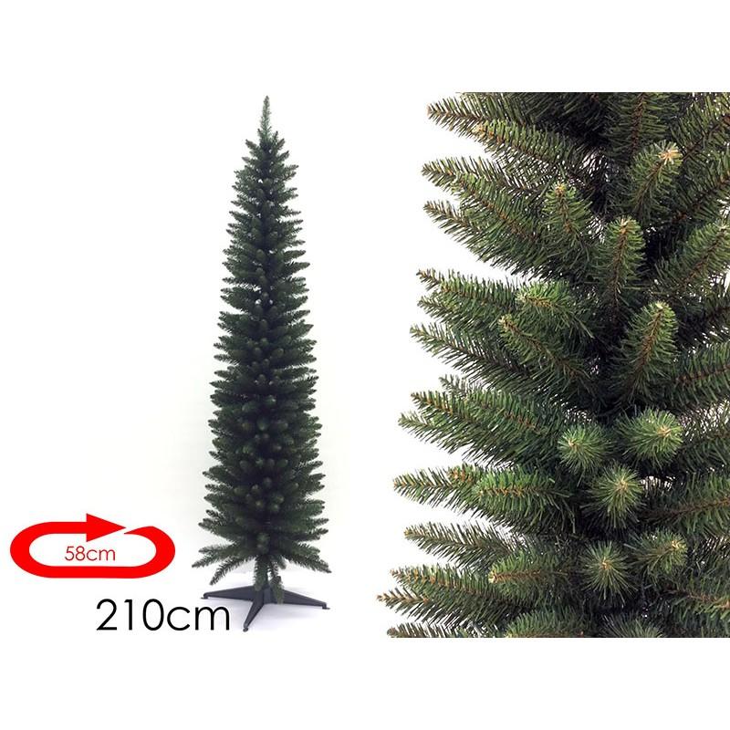 Albero di Natale Artificiale Monviso 210 cm