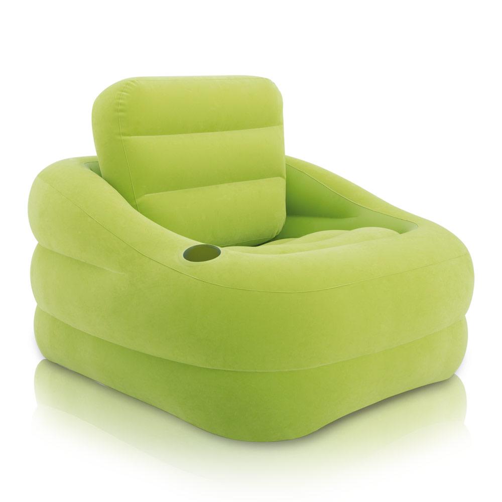 Poltrona gonfiabile verde intex - Poltrona letto gonfiabile ...